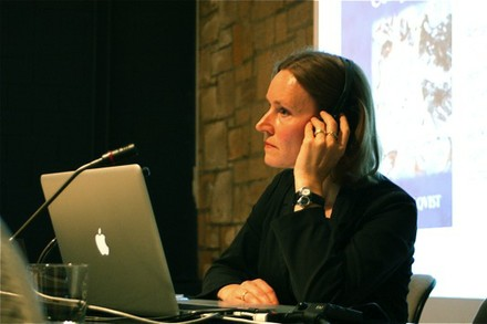 Christa Sommerer-en hitzaldia - small