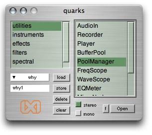 AUDIO DIGITALEKO PROZESATZEA (DSP), ixiQuarks softwarea erabiliz