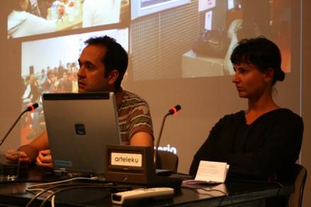 Marcos García y Laura Fernandez de MediaLab-Prado, Madrid - small