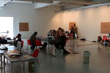 Espacio del taller de Arteleku - small