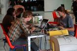 David Sjunnesson, Oscar y Moisés Mañas , trabajando un poco - thumbnail