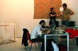 Christian trabajando (Carles y Francesca al fondo)  - thumbnail